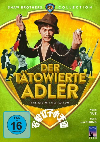 Der tätowierte Adler (Shaw Brothers Collection) (DVD)
