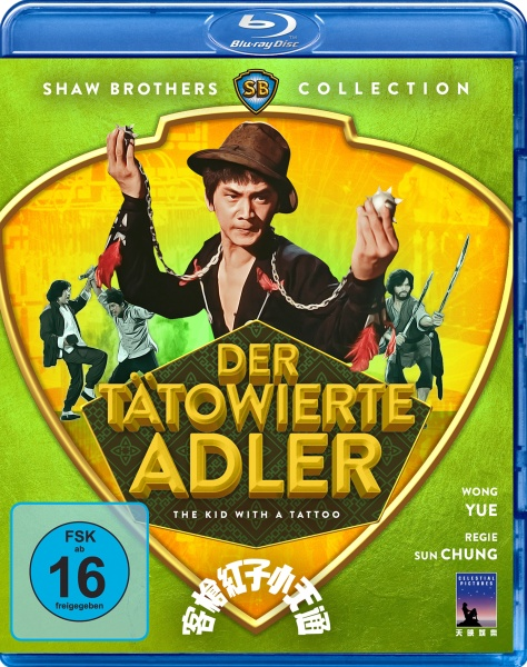 Der tätowierte Adler (Shaw Brothers Collection) (Blu-ray)