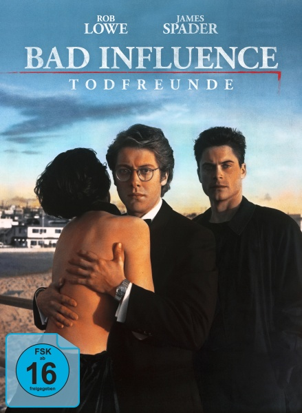 Todfreunde (Bad Influence) (Mediabook, Blu-ray + DVD)