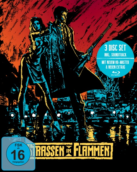 Straßen in Flammen (Mediabook, 2 Blu-rays + Soundtrack-CD)