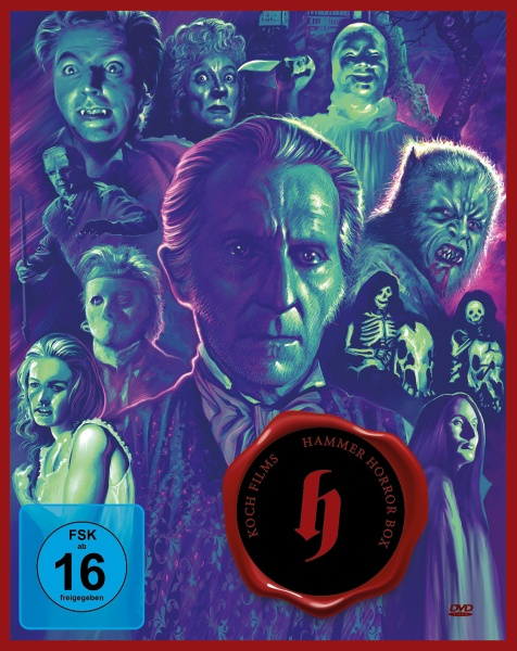 Hammer - Horror Box (7 Blu-rays)