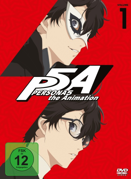 PERSONA5 the Animation Vol. 1 (2 DVDs)