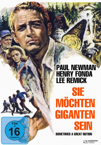 Sie möchten Giganten sein (Sometimes a great Notion) (DVD)