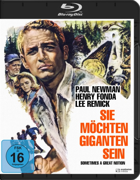 Sie möchten Giganten sein (Sometimes a great Notion) (Blu-ray)