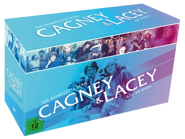 Cagney & Lacey - Die komplette Serie (34 DVDs)