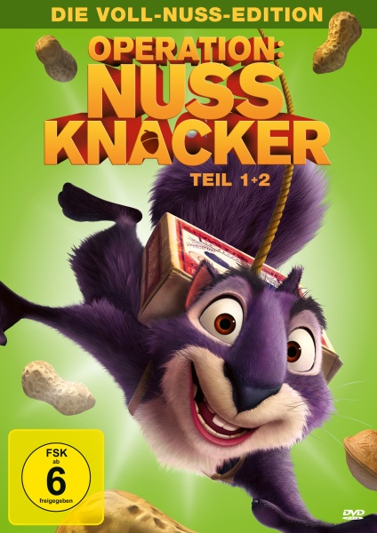 Operation Nussknacker - Teil 1+2 - Die Voll-Nuss-Edition (2 DVDs)