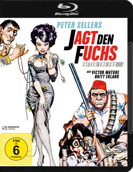 Jagt den Fuchs (After the Fox) (Blu-ray)