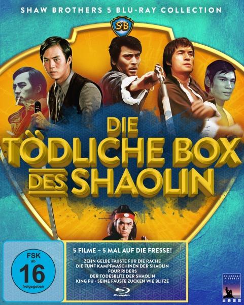 Die tödliche Box des Shaolin (Shaw Brothers Collection) (5 Blu-rays)