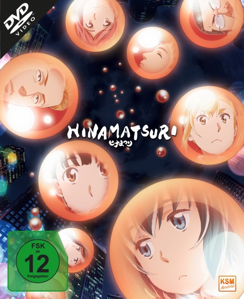 Hinamatsuri - Volume 1: Episode 01-04 (3 DVDs)