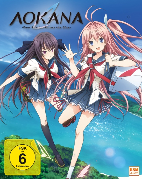 Aokana - Four Rhythm Across the Blue - Gesamtedition: Episode 01-12 (2 Blu-rays)