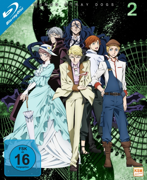 Bungo Stray Dogs - Staffel 2 (3 Blu-rays)