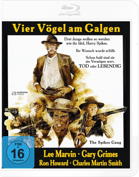 Vier Vögel am Galgen (The Spikes Gang) (Blu-ray)