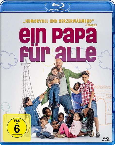 Ein Papa für alle - Zusammen sind wir stärker (Blu-ray)