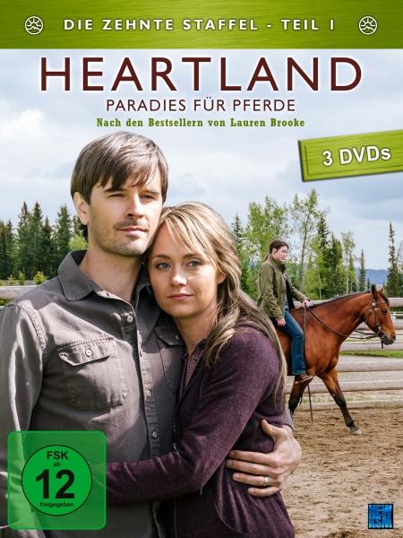 Heartland - Paradies für Pferde, Staffel 10.1 (3 DVDs)