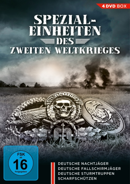 Spezialeinheiten des Zweiten Weltkrieges (4 DVDs)