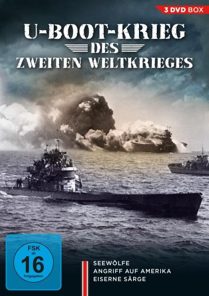 U-Bootkrieg des Zweiten Weltkrieges (3 DVDs)