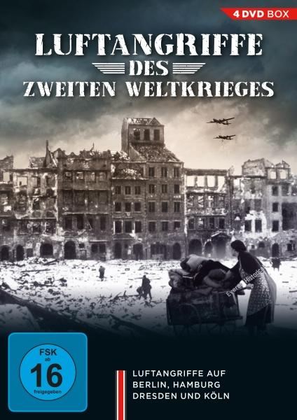 Luftangriffe des Zweiten Weltkrieges (4 DVDs)