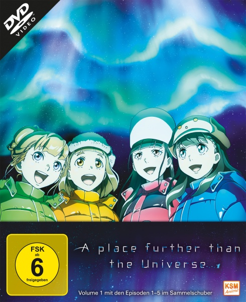 A Place Further than the Universe - Volume 1: Episode 01-04 (DVD)