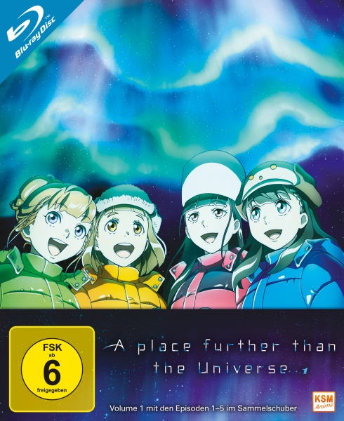 A Place Further than the Universe - Volume 1: Episode 01-04 (Blu-ray)