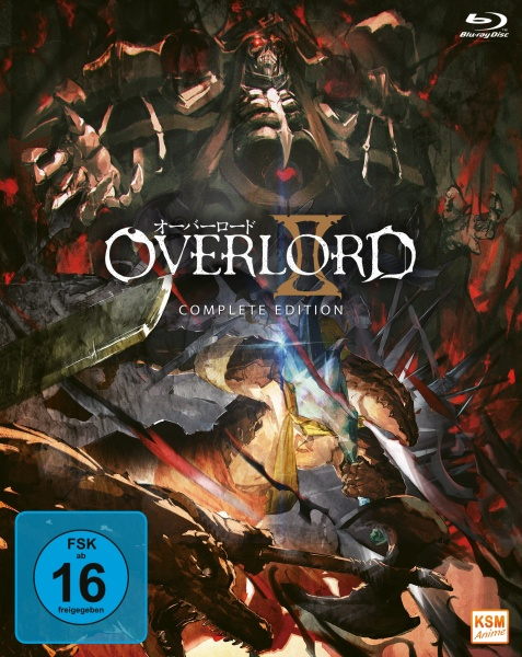 Overlord - Complete Edition - Staffel 2 (3 Blu-rays)
