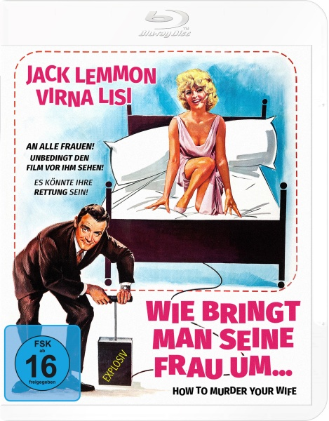 Wie bringt man seine Frau um (How To Murder Your Wife) (Blu-ray)