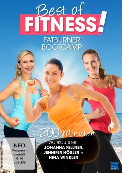 Best of Fitness - Fatburner Bootkamp 3auf1 (Fellner, Winkler, Hößler) (DVD)