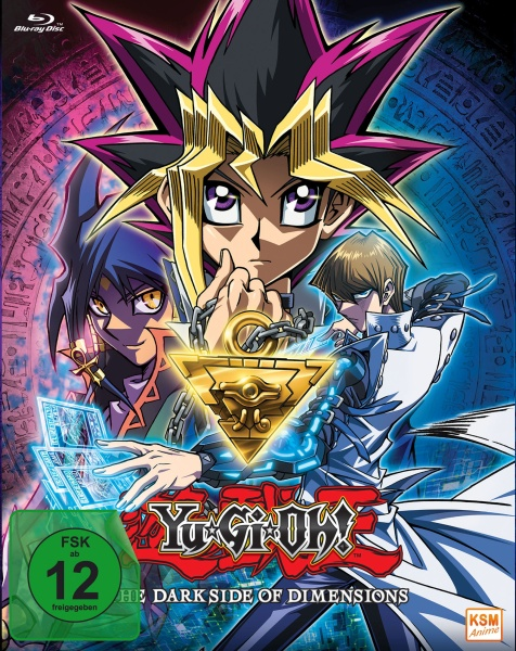 Yu-Gi-Oh! - The Dark Side of Dimensions - The Movie (Blu-ray)