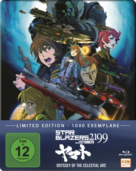 Star Blazers 2199 - Space Battleship Yamato - Odyssey of the Celestial Arc - The Movie 2 (Blu-ray)