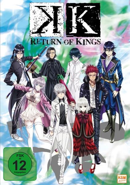 K - Return of Kings - Staffel 2.1: Episode 01-05 (DVD)