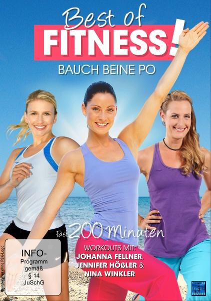 Best of Fitness - Bauch Beine Po 3auf1 (Fellner+Winkler+Hößler) (DVD)