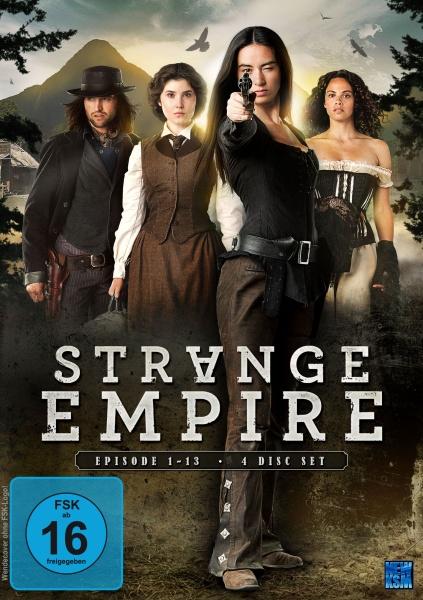 Strange Empire - Staffel 1: Episode 01-13 (4 DVDs)