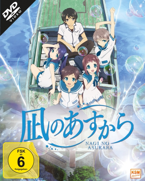 Nagi no Asukara - Volume 1: Episode 01-06 (DVD)
