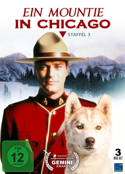 Ein Mountie in Chicago - Staffel 3 (3 DVDs)