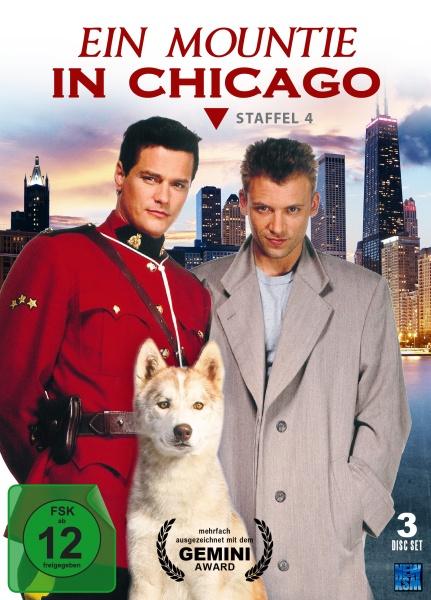 Ein Mountie in Chicago - Staffel 4: Epiosde 54-66 (3 DVDs)