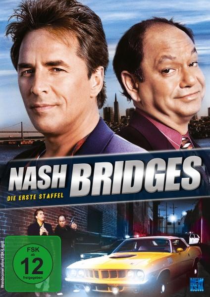 Nash Bridges - Staffel 1 - Episode 01-08 (2 DVDs)