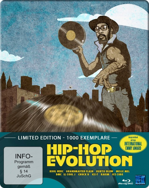Hip Hop Evolution - Limited Edition (Blu-ray)