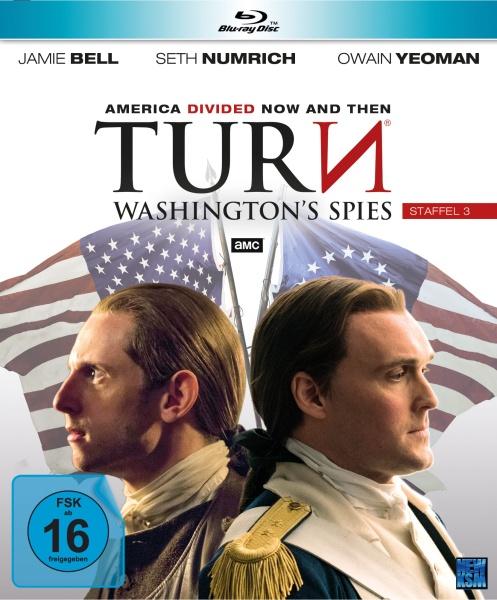 Turn - Washington's Spies - Staffel 3 (10 Folgen) (4 Blu-rays)