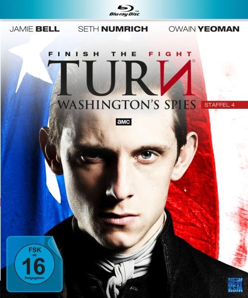 Turn - Washington's Spies - Staffel 4 (10 Folgen) (4 Blu-rays)