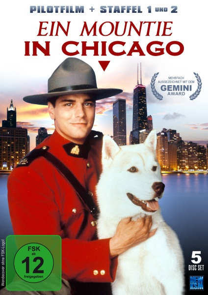 Ein Mountie in Chicago - Staffel 1 &2 inkl. Pilotfilm (5 DVDs)