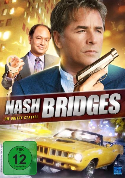 Nash Bridges - Staffel 3 - Episode 32-54 (6 DVDs)