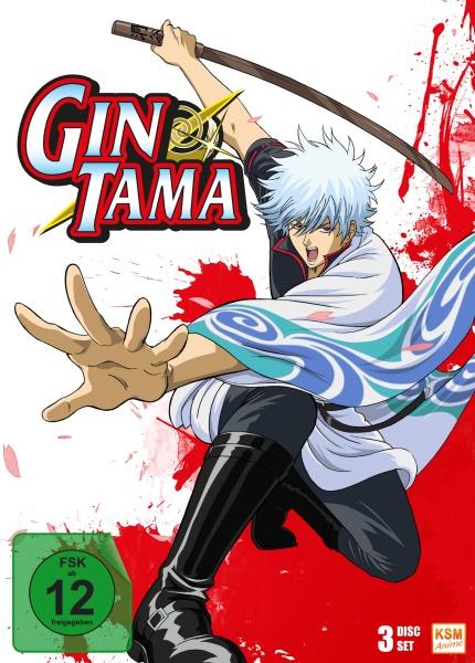 Gintama - Episode 01-13 (3 DVDs)