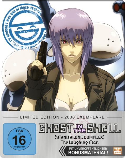 Ghost in the Shell - Stand Alone Complex Laughing Man (Blu-ray)