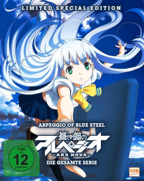 Arpeggio of Blue Steel: Ars Nova - Limited Complete Edition (12 Folgen) (3 DVDs)