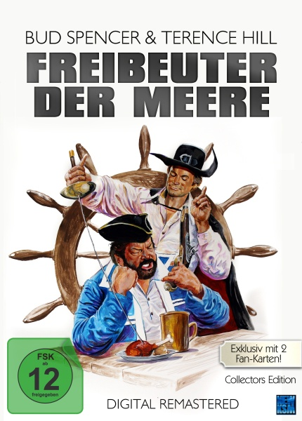 Freibeuter der Meere - Digital Remastered Limited Edition (DVD)