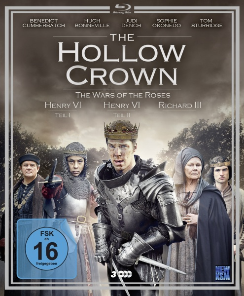 The Hollow Crown - The Wars of the Roses - Staffel 2 (3 Blu-rays)