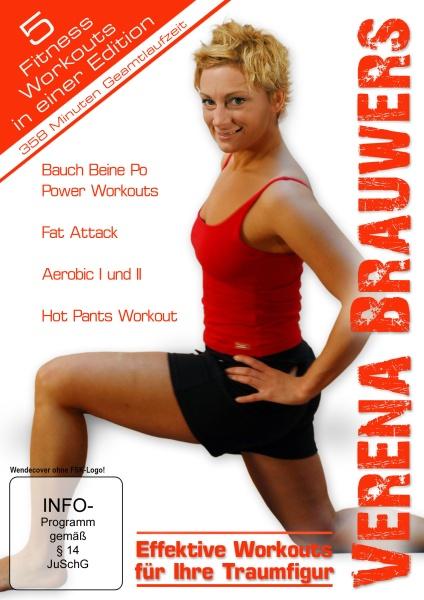 Verena Brauwers Edition - Effektives Workout für Ihre Traumfigur - Bauch Beine Po & Fat Attack Workout (5er Scanavo Box) (5 DVDs)