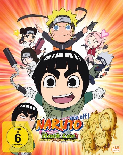 Naruto Spin - Off! Rock Lee und seine Ninja Kumpels - Volume 01: Episode 01-13 (2 Blu-rays)