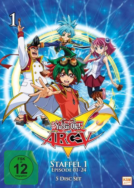 Yu-Gi-Oh! ARC-V - Staffel 1.1: Episode 01-24 (5 DVDs)