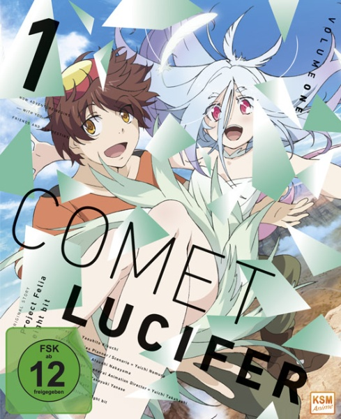 Comet Lucifer - Episode 01-06 (Blu-ray)