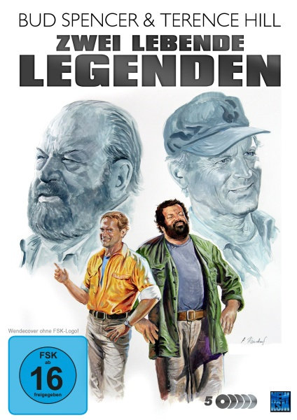Bud Spencer & Terence Hill - Zwei lebende (Film-)Legenden (5 DVDs)
